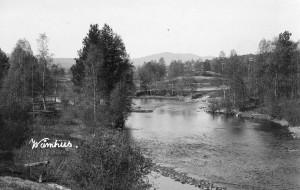 Vykort från Våmhus 1903