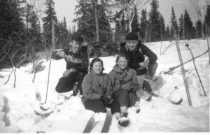 Bogg-Sven Andersson, Henry Jönsson, Jönsson , Anna-Lisa Östberg
